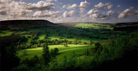 bilsdale yorkshire landscape wall print