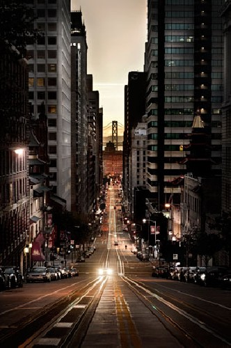 San Francisco Dawn by Tim Wallace