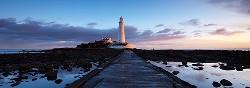St Marys Lighthouse Panorama