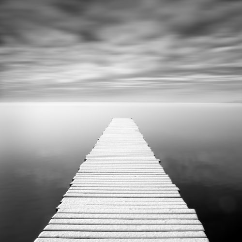 Black And White Jetty Prints