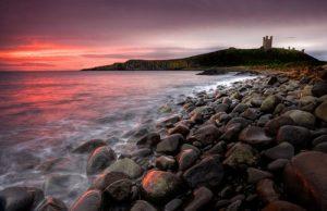 Seascapes Greymare Dawn – Dunstanburgh