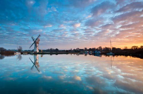 Landscapes Thurne Reflections