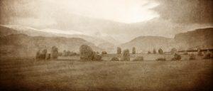 Panoramic Castlerigg Stones