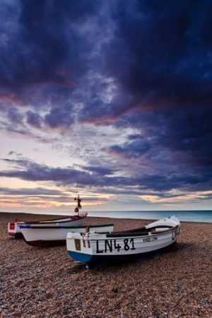 Seascapes Cley Boats