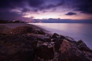 Seascapes Altea Hills Dawn