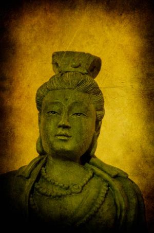 Modern Art Divine Buddha