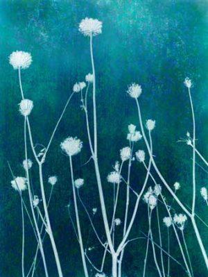 Modern Art Ice Grass