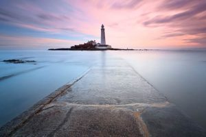 Seascapes Path To St Marys Lighthouse