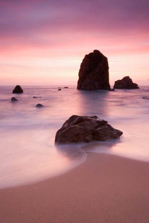 Seascapes Pink Glow