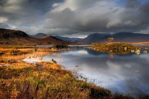 Landscapes Rannoch Moor
