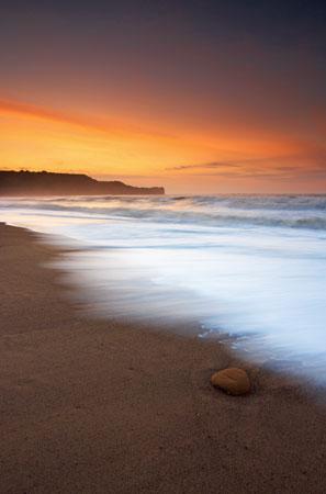 Seascapes Sandsend Sunset