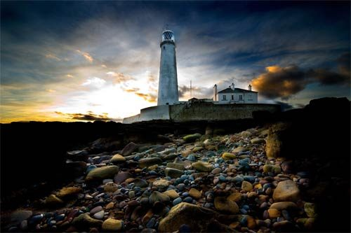 Fine Art St Marys Lighthouse