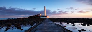 St Marys Lighthouse Panorama