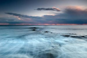 Seascapes Stormy Sunset