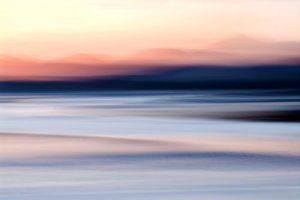 Modern Art Sunset Harris