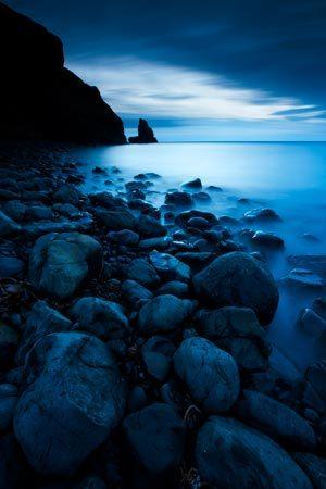 Seascapes Talisker Bay Moonlight