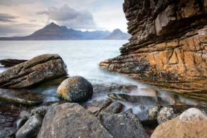 Seascapes The Cullin from Elgol