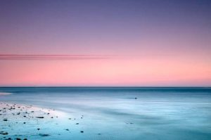 Seascapes Tranquil Lines