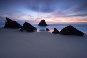 Seascapes Dancing Stones
