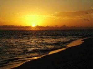 Seascapes Beach Sunset
