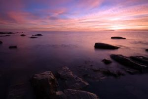 Seascapes Clavell Point Sunset