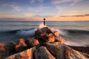 Seascapes Evening Colour