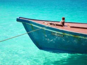 Fine Art Maldivian Fishing Boat